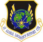 STICKER USAF Global Logistics Support Center Emblem