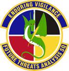 STICKER USAF Future Threats Analysis Squadron Emblem