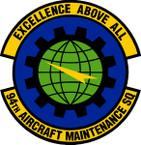 STICKER USAF 94th Aircraft Maintenance Squadron Emblem