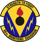STICKER USAF 86th Munitions Squadron Emblem