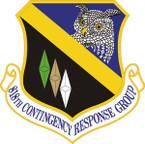 STICKER USAF 818th Contingency Response Group Emblem