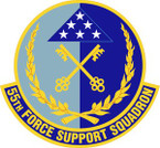 STICKER USAF 55th Force Support Squadron Emblem
