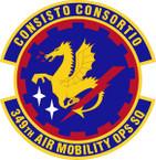STICKER USAF 349th Air Mobility Operations Squadron Emblem