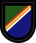 STICKER U S ARMY FLASH 75th Ranger Regiment