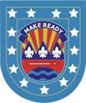 STICKER U S ARMY FLASH 75th Division