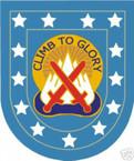 STICKER U S ARMY FLASH  10TH MOUNTAIN