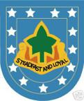 STICKER U S ARMY FLASH   4TH INFANTRY DIVISION