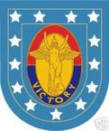 STICKER U S ARMY FLASH   1ST INFANTRY DIVISION
