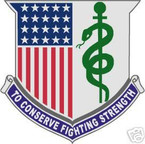 STICKER U S ARMY BRANCH MEDICAL DEPARTMENT