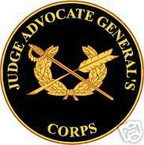 STICKER U S ARMY BRANCH Judge Advocate General