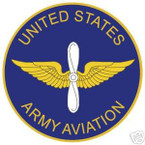 STICKER U S ARMY BRANCH ARMY AVIATION
