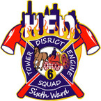 STICKER ST HOUSTON FIRE DEPARTMENT