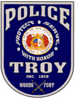 STICKER TROY MS POLICE