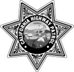 STICKER California Highway Patrol BW