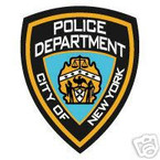 STICKER New York City Police Department