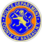 STICKER Nassau New York Police Department