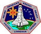 STICKER NASA SPACE SHUTTLE MISSION STS-78