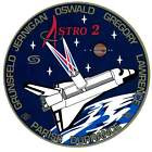 STICKER NASA SPACE SHUTTLE MISSION STS-67