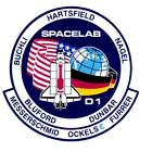 STICKER NASA SPACE SHUTTLE MISSION STS-61A