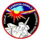 STICKER NASA SPACE SHUTTLE MISSION STS-56