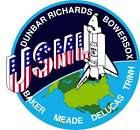 STICKER NASA SPACE SHUTTLE MISSION STS-50