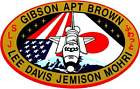 STICKER NASA SPACE SHUTTLE MISSION STS-47