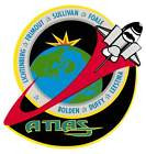 STICKER NASA SPACE SHUTTLE MISSION STS-45