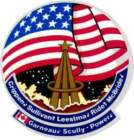 STICKER NASA SPACE SHUTTLE MISSION STS-41G