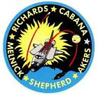 STICKER NASA SPACE SHUTTLE MISSION STS-41