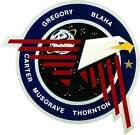 STICKER NASA SPACE SHUTTLE MISSION STS-33