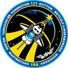 STICKER NASA SPACE SHUTTLE MISSION STS-131
