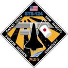 STICKER NASA SPACE SHUTTLE MISSION STS-124