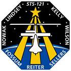 STICKER NASA SPACE SHUTTLE MISSION STS-121