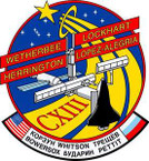 STICKER NASA SPACE SHUTTLE MISSION STS-113