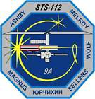 STICKER NASA SPACE SHUTTLE MISSION STS-112
