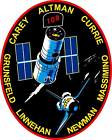 STICKER NASA SPACE SHUTTLE MISSION STS-109