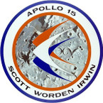 STICKER NASA APOLLO MISSION 15