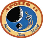 STICKER NASA APOLLO MISSION 14