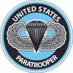 STICKER MILITARY USMC ARMY NAVY PARATOOPER