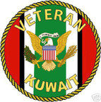 STICKER MILITARY USMC ARMY NAVY Kuwait Veteran