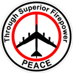 STICKER MILITARY PEACE