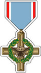 STICKER MILITARY Medal Air Force Cross