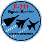 STICKER MILITARY AIRCRAFT F-111 AARDVARK C