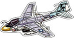 STICKER MILITARY AIRCRAFT EA-6B Prowler