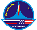 Sticker ISS Soyuz TMA-2