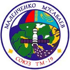Sticker ISS Soyuz TM-19