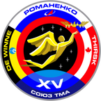 Sticker ISS Soyuz TM-15