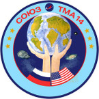 Sticker ISS Soyuz TM-14