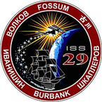 STICKER ISS Expedition  29