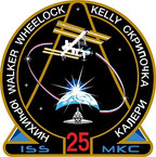 STICKER ISS Expedition  25